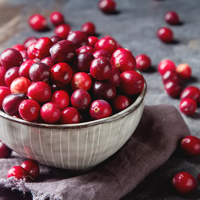 Aunt Ardella's Brandied Cranberries